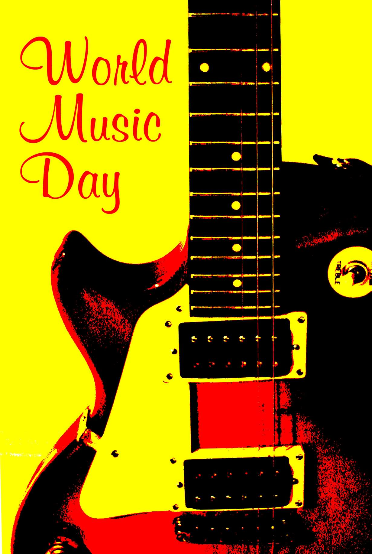 Beautiful Girl With Guitar Hd Wallpapers 42 Incredible Pictures Of World Music Day Greetings