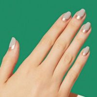 50 Cool Reverse French Tip Nail Art Designs