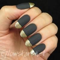 45+ Beautiful Black Matte Nail Art Designs