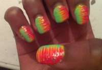 50 Latest Neon Nail Art Design Ideas