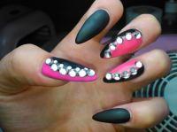 Black And Pink Nail Designs | www.pixshark.com - Images ...