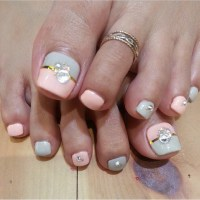 38+ Latest Wedding Toe Nail Art Design Ideas