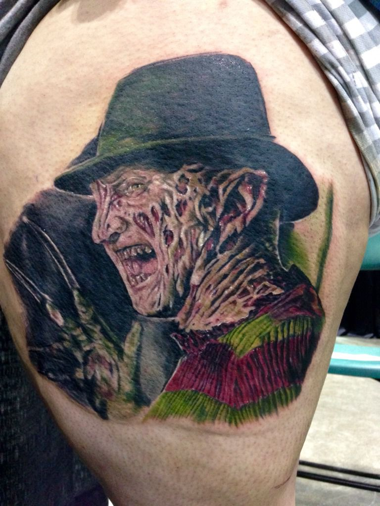 Freddy Krueger Wallpaper 3d Colorful Horror Freddy Krueger Tattoo
