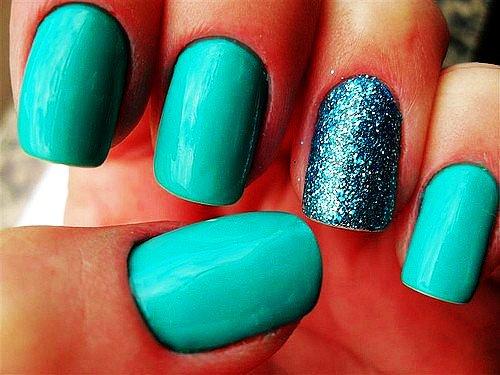 50 Most Beautiful Green Nail Art Designs