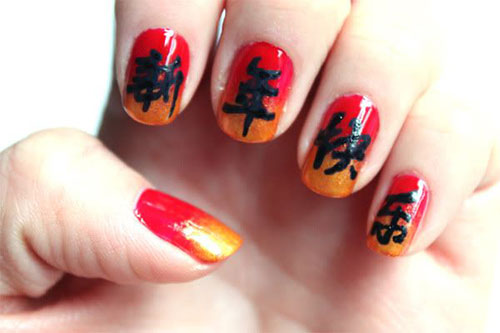 Comfortable 60 Latest Chinese Nail Art Designs Usefulresults