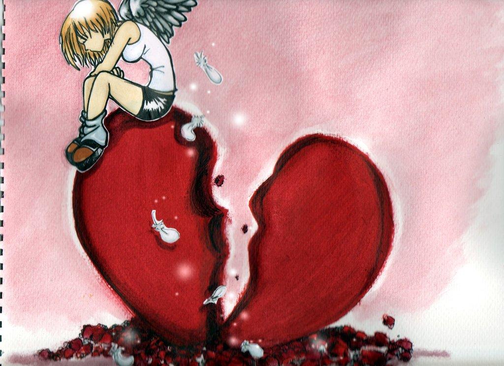 Broken Heart Love Quotes Wallpaper 55 Best Broken Heart Pictures And Images