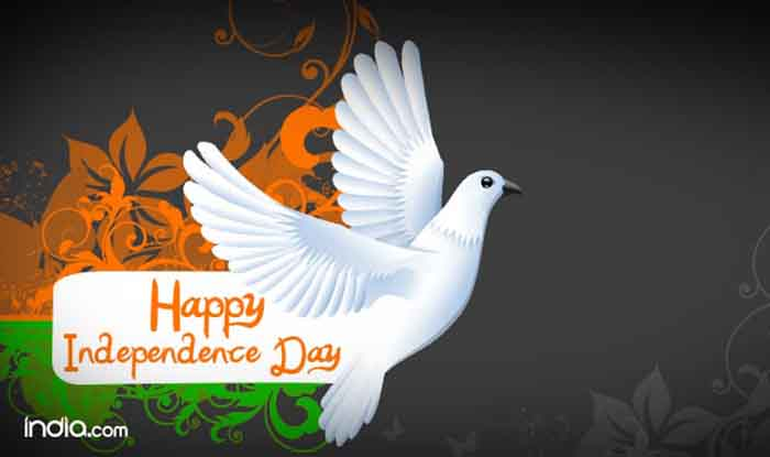 Funny Quote Hindi Wallpaper Happy Independence Day Of India Flying Dove Picture