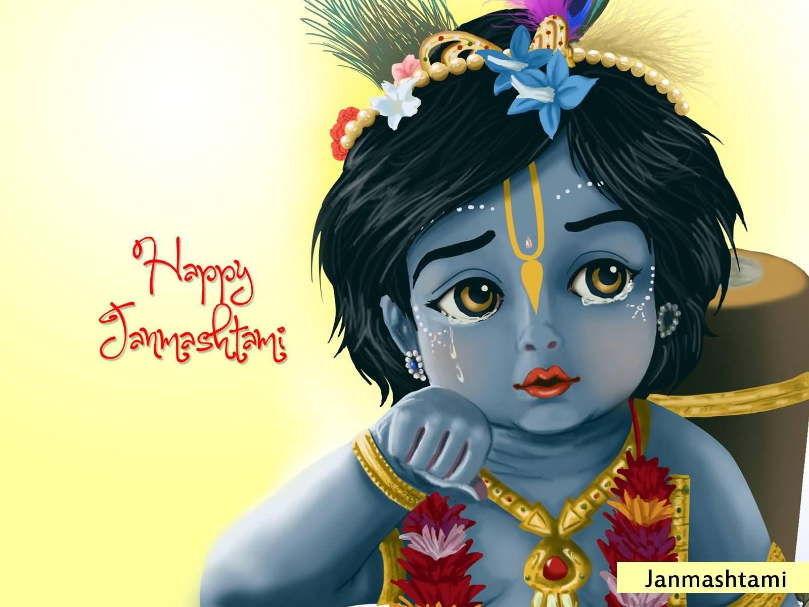 Vishu Hd Wallpapers 55 Latest Krishna Janmashtami Greeting Pictures