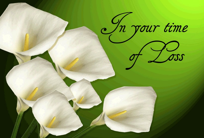 In Your Time Of Loss Sympathy Message