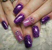 65 Cool Purple Nail Art Design Ideas