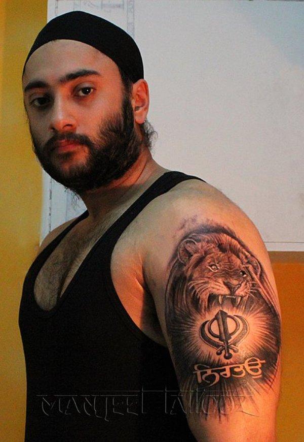 3d Khanda Wallpaper 20 Punjabi Khanda Tattoos