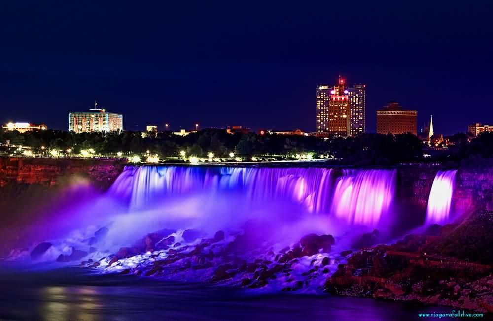 Niagara Falls Hd 1080p Wallpapers 40 Night View Pictures Of Niagara Falls