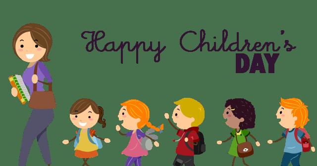 Cute Nail Arts Wallpaper Happy Children S Day School Children With Teacher Illustration