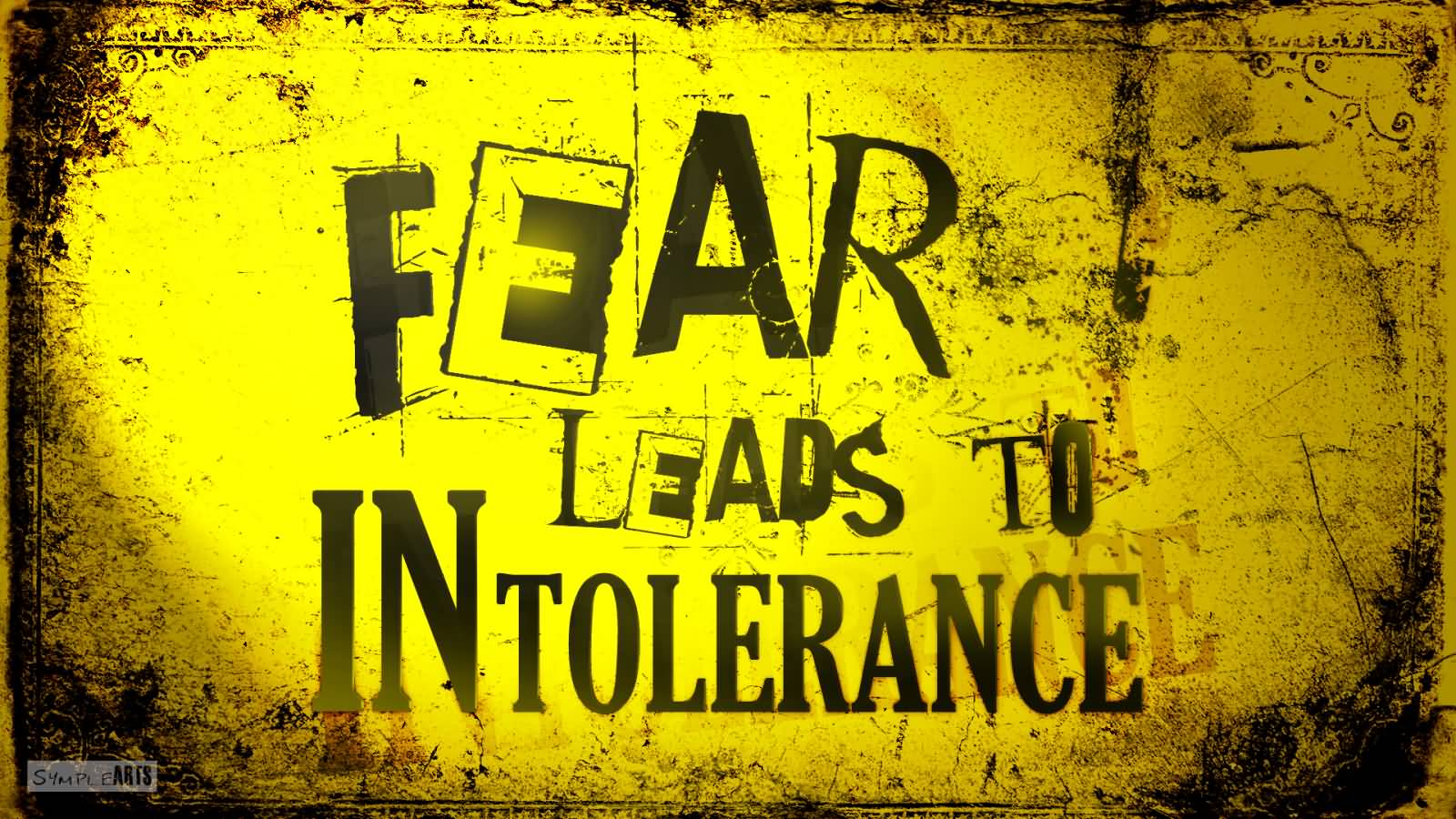 Nail Art Wallpaper Quotes Fear Leads To Intolerance