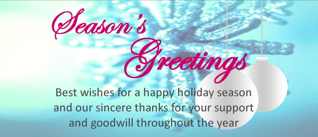 Seasons Greetings Best Wishes For A Happy Holiday Season