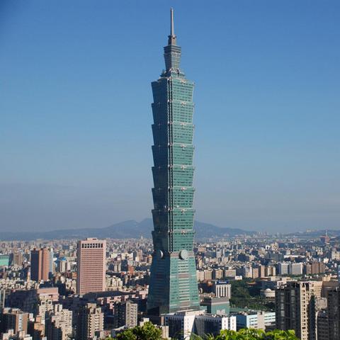 Lit Quotes Wallpaper Taipei 101 Skyscraper Of Taiwan