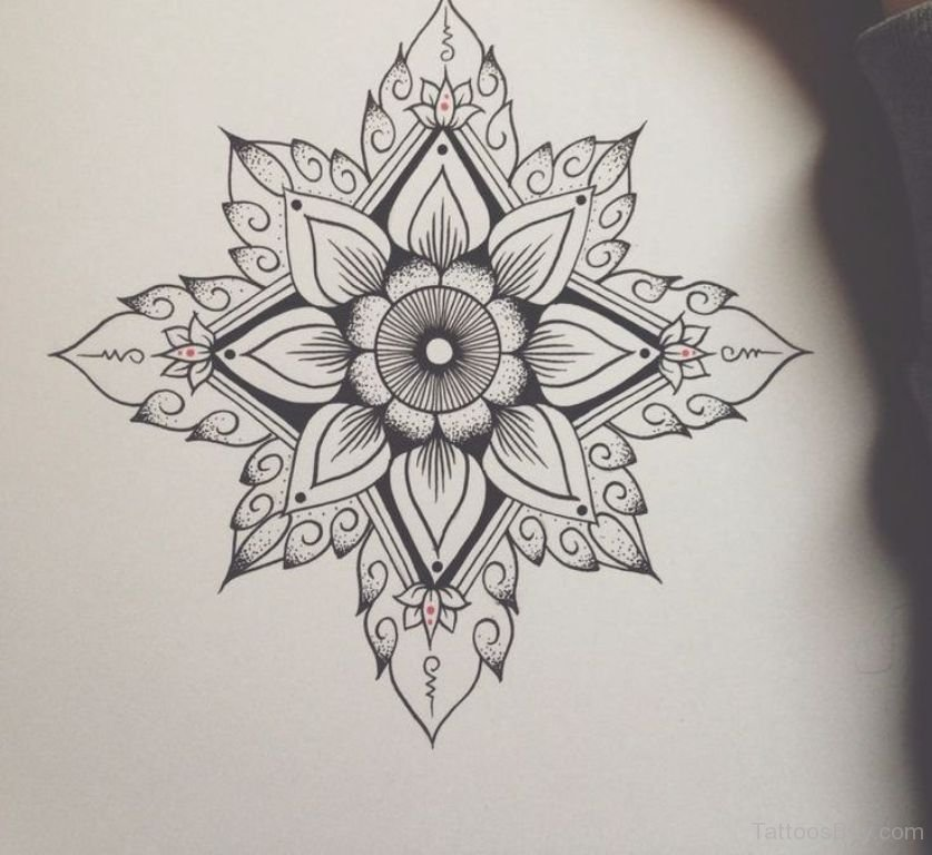 Angel Girl And Skulls Wallpaper 45 Best Mandala Tattoos Designs