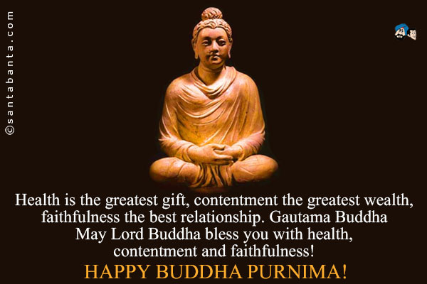 Sympathy Wallpaper Quotes May Lord Buddha Bless You With Health Contentment And