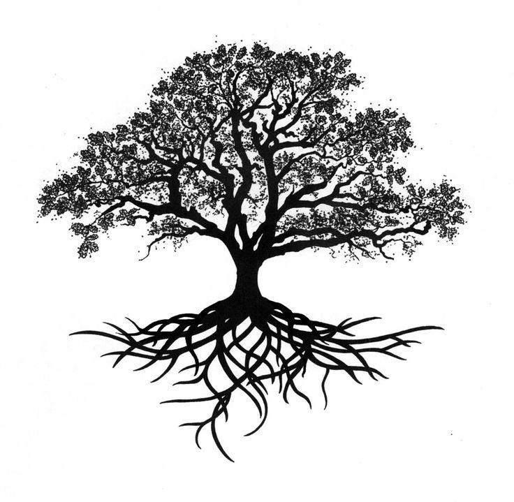 55+ Latest Oak Tree Tattoos Collection