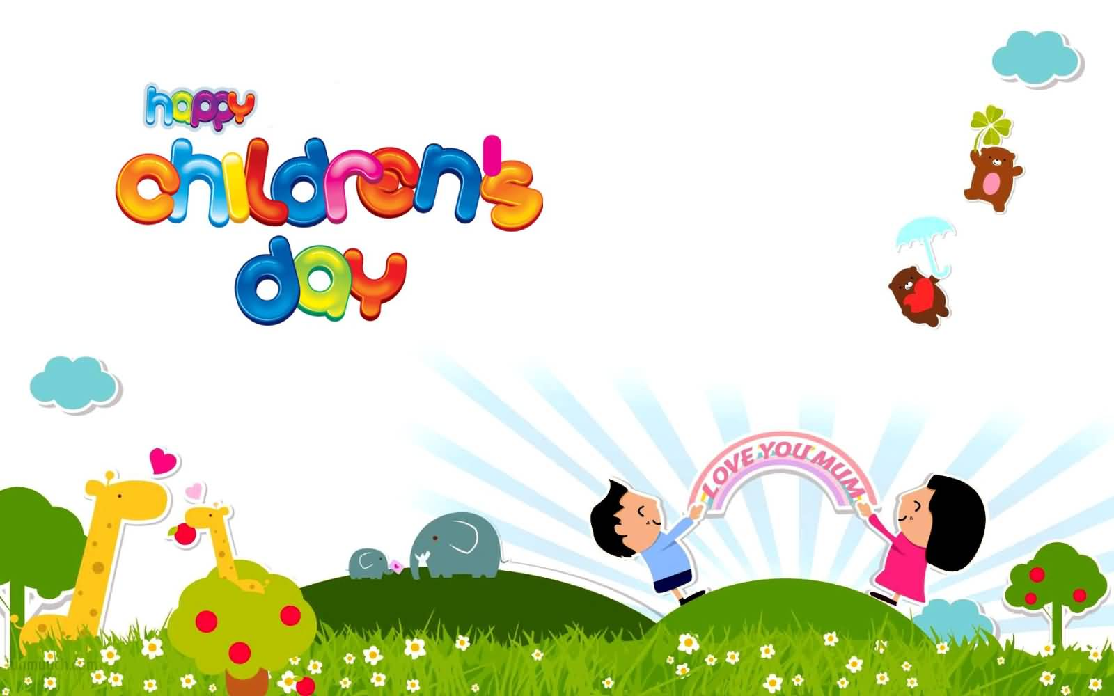 Funny Facebook Wallpaper Quotes Happy Children S Day Colourful Wallpaper