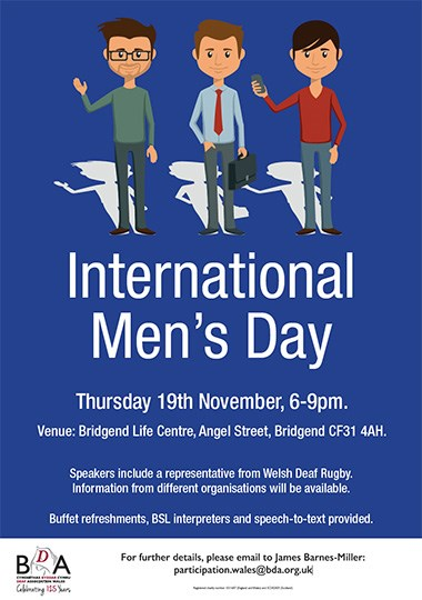 International Men\u0027s Day celebration party invitation card - 's day party invitation