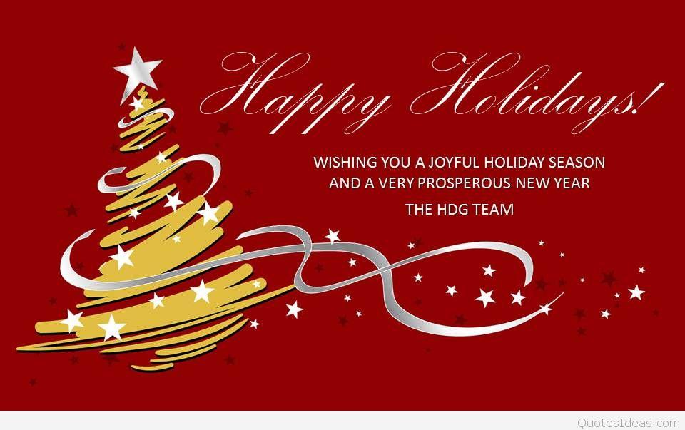 Wishing you a joyful holiday season Happy Holidays - happy holidays and new year greetings