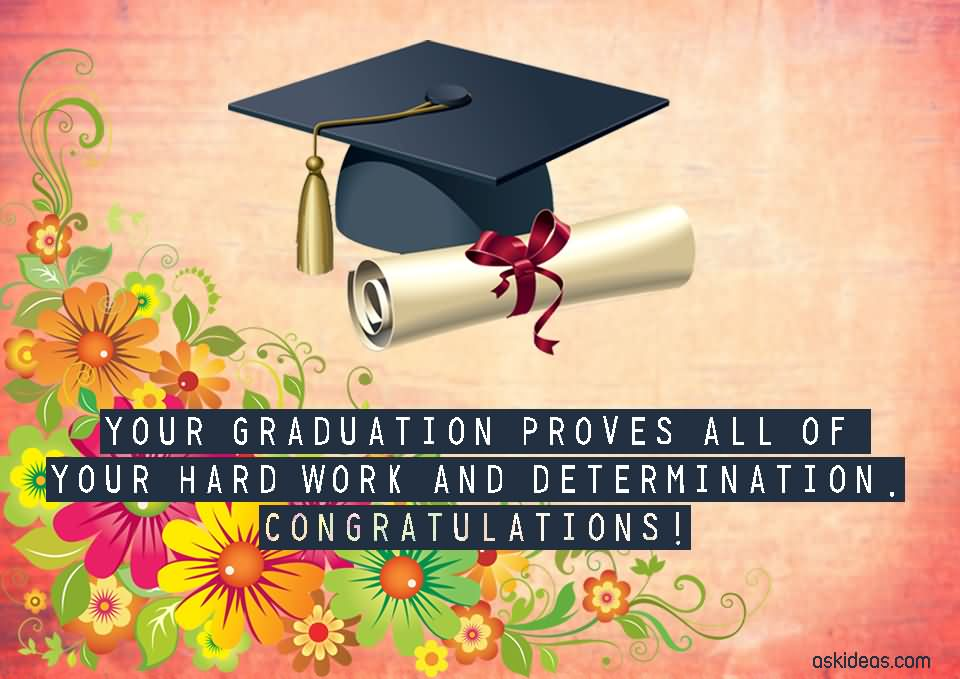 101 Best Graduation Messages, Wishes  Sms - congratulation graduation
