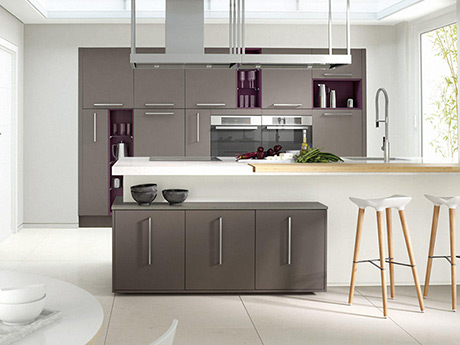 Contemporary painted collection kitchen ranges and