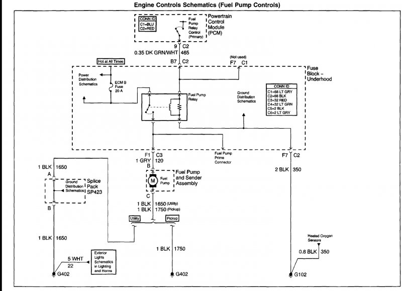 2003 Chevy S10 Fuel Pump Wiring Diagram Wiring Diagram