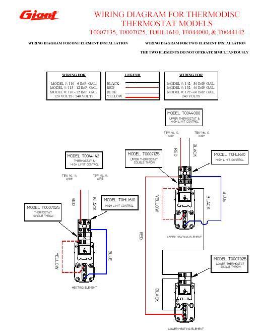 240 Volt Hot Water Heater Wiring Diagram - Wiring Solutions