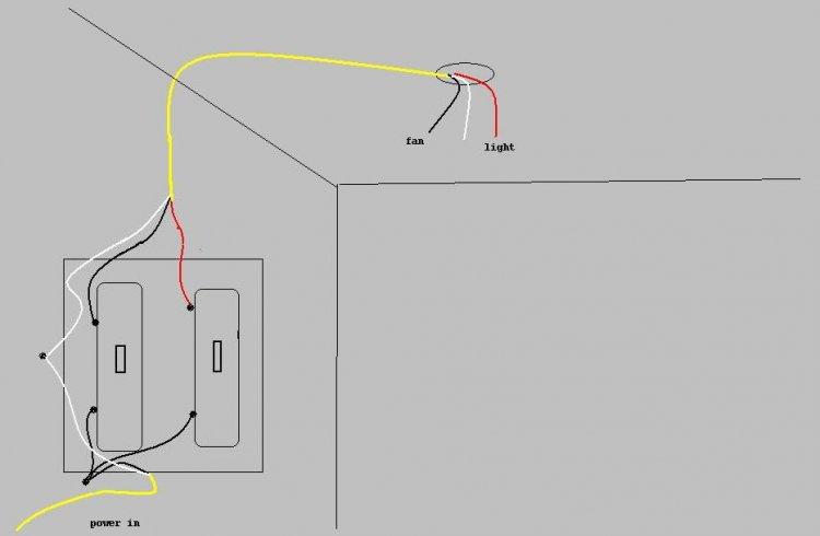 ceiling fan light switch 3 way