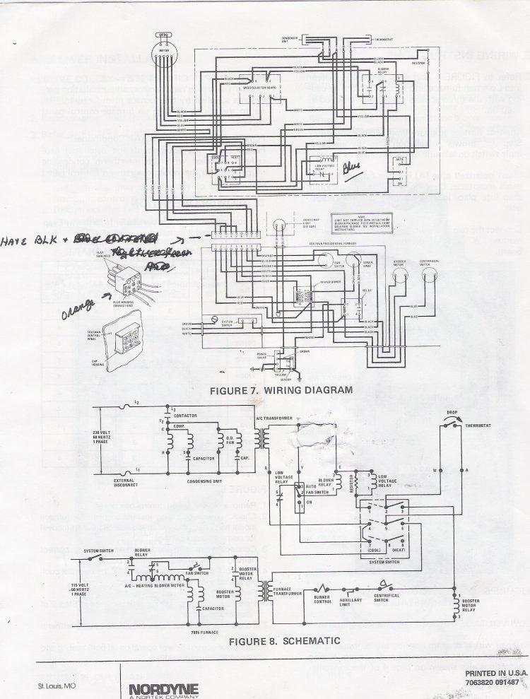 american standard heat pump thermostat wiring diagram