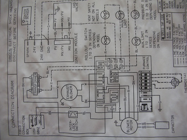 Heil Furnace Diagram Wiring Diagram