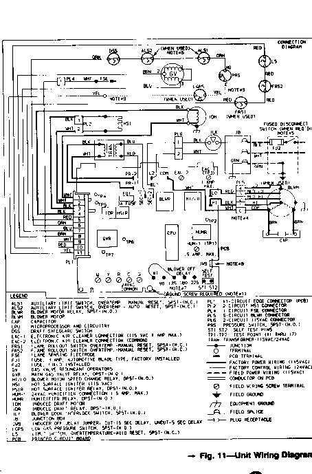 wiring diagram for carrier electric furnace