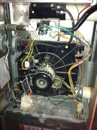 Carrier Gas Furnace, Pressure Switch Problems (Model 58MCA ...