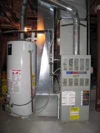 Water Heater and Furnace strange problem
