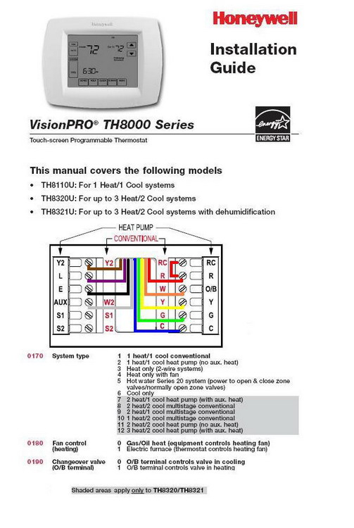 wiring diagram for a trane thermostat
