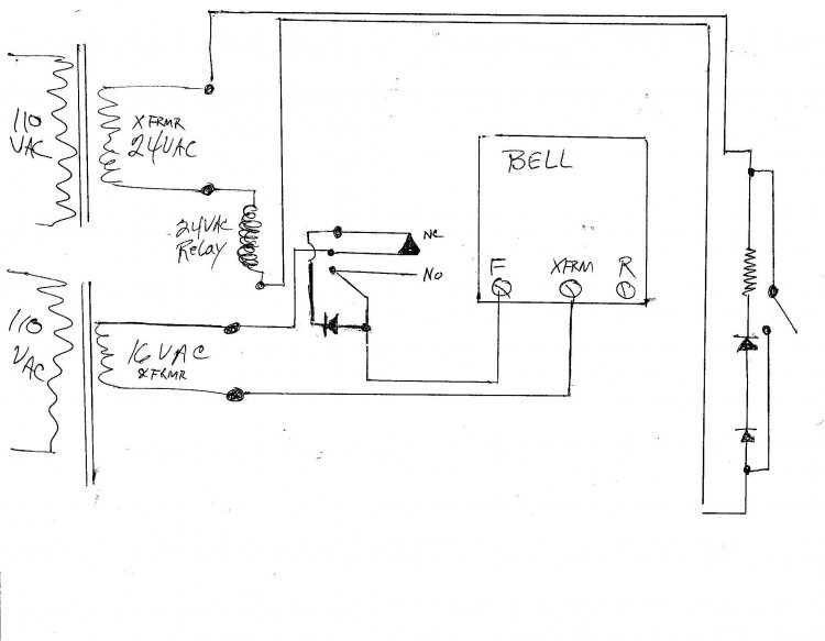 typical door bell wiring