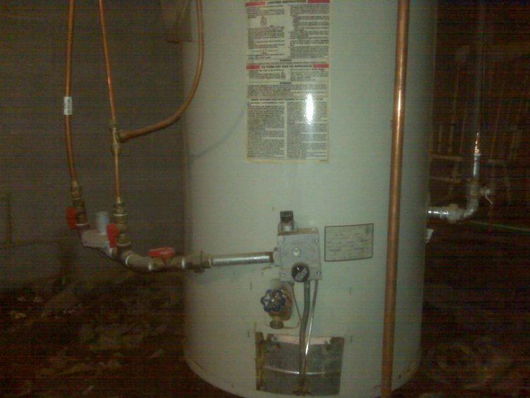 Gas Water Heater Water Leaking From Gas Water Heater