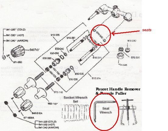 american standard h ton kitchen faucet parts diagram on diagram
