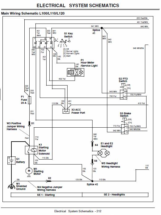 john deere 110 1967 wiring harness