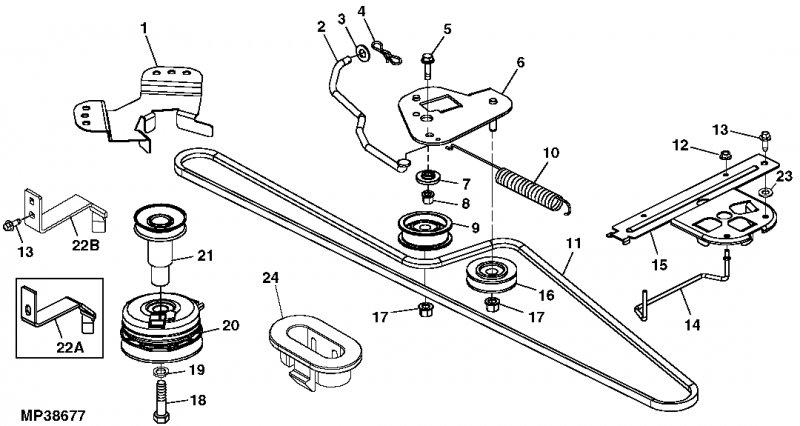 John Deere 155c Belt Diagram