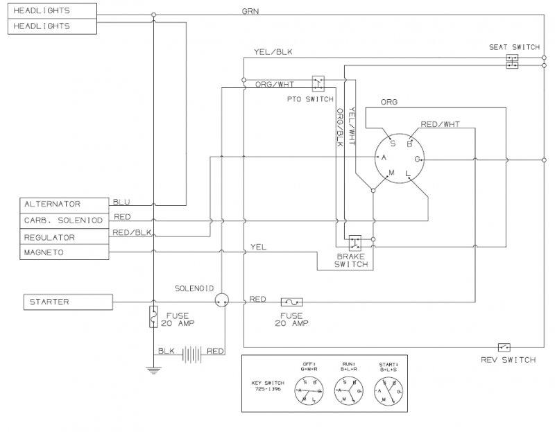 bolens wiring diagram