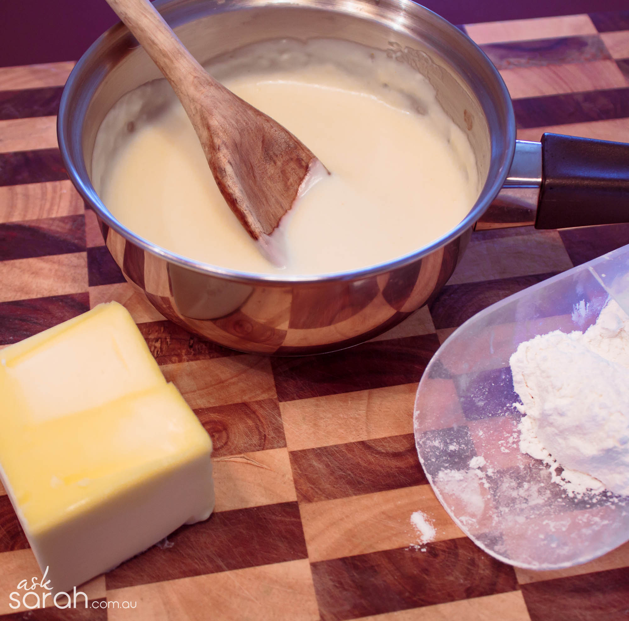 how to cook a roux