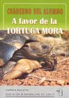 Cuaderno del alumno a favor de la tortuga mora