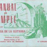 1981 Manual de Timple - Manual de bolsillo Gustavo Benitez Suarez.