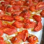 Roasted Tomatoes & Freezing Tips