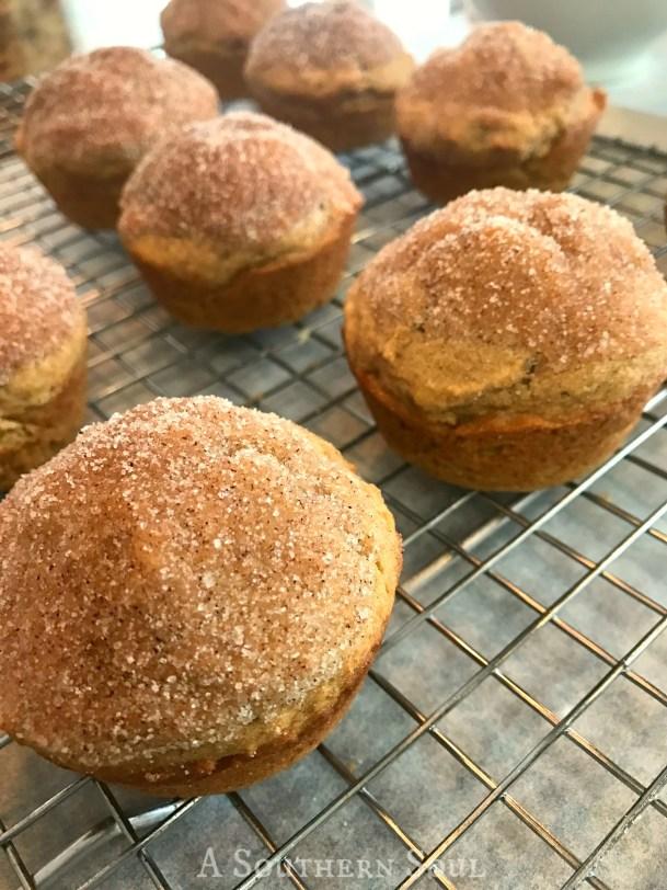 whole wheat applesauce muffins