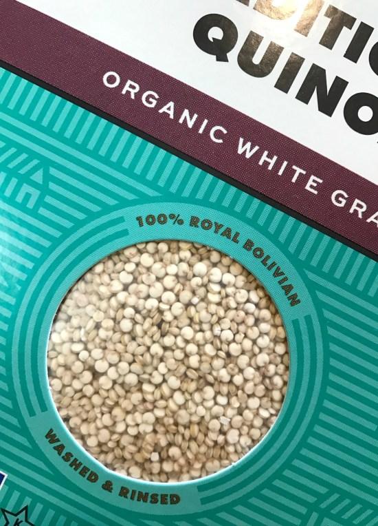 quinoa in box rice cooker