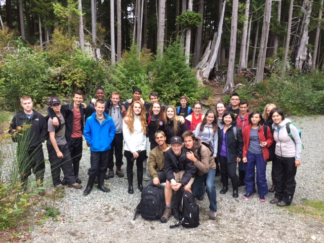 Grade 11 Students in Bamfield